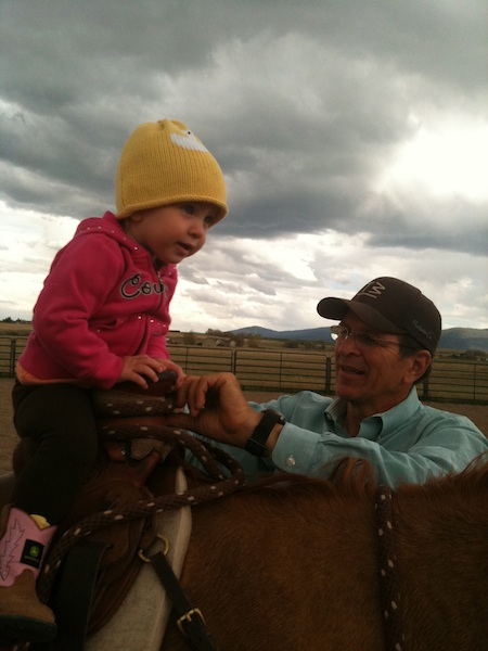LO and Cowboy on Red 1