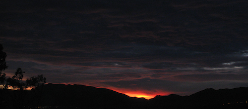 Sunrise in ABQ 2008