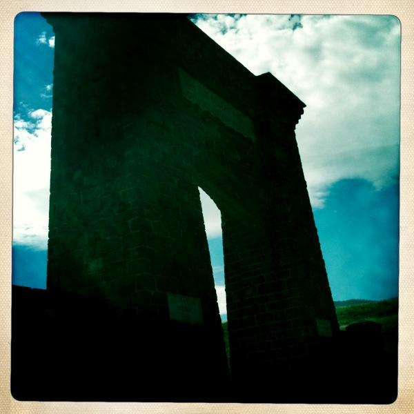 Yellowstone old gate