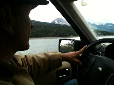Cowboy drives