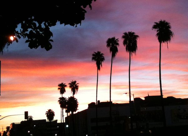 Sunrise in LA