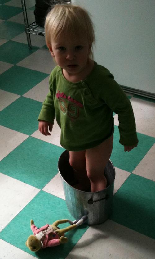 LO in bucket