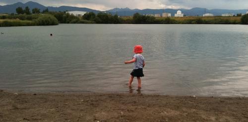 LO into lake