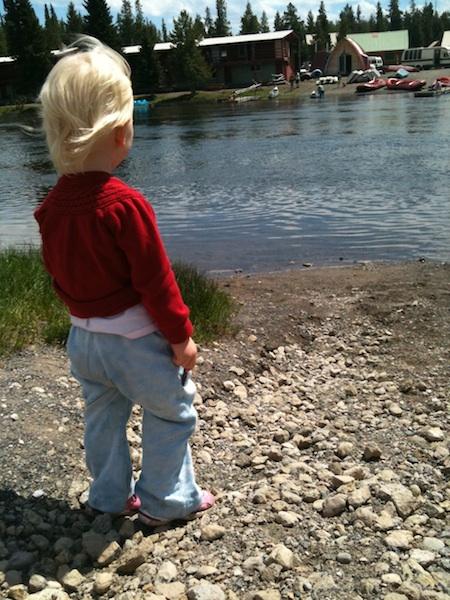 LO contemplates canoeing