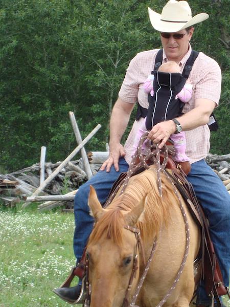 LO horseback 1st time
