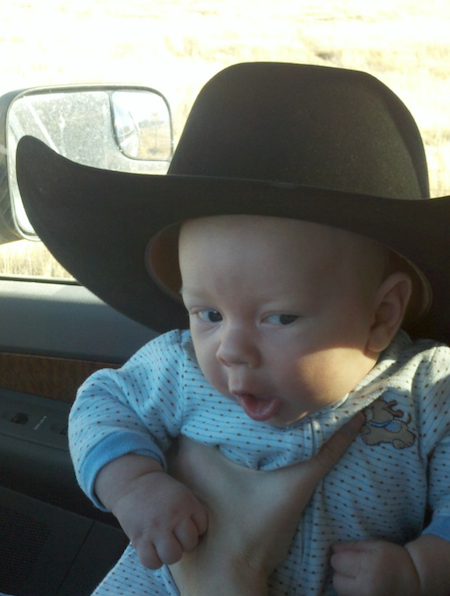LM cowboy in training